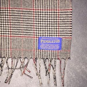 Pendleton 100% Pure Virgin Wool Scarf Made In USA